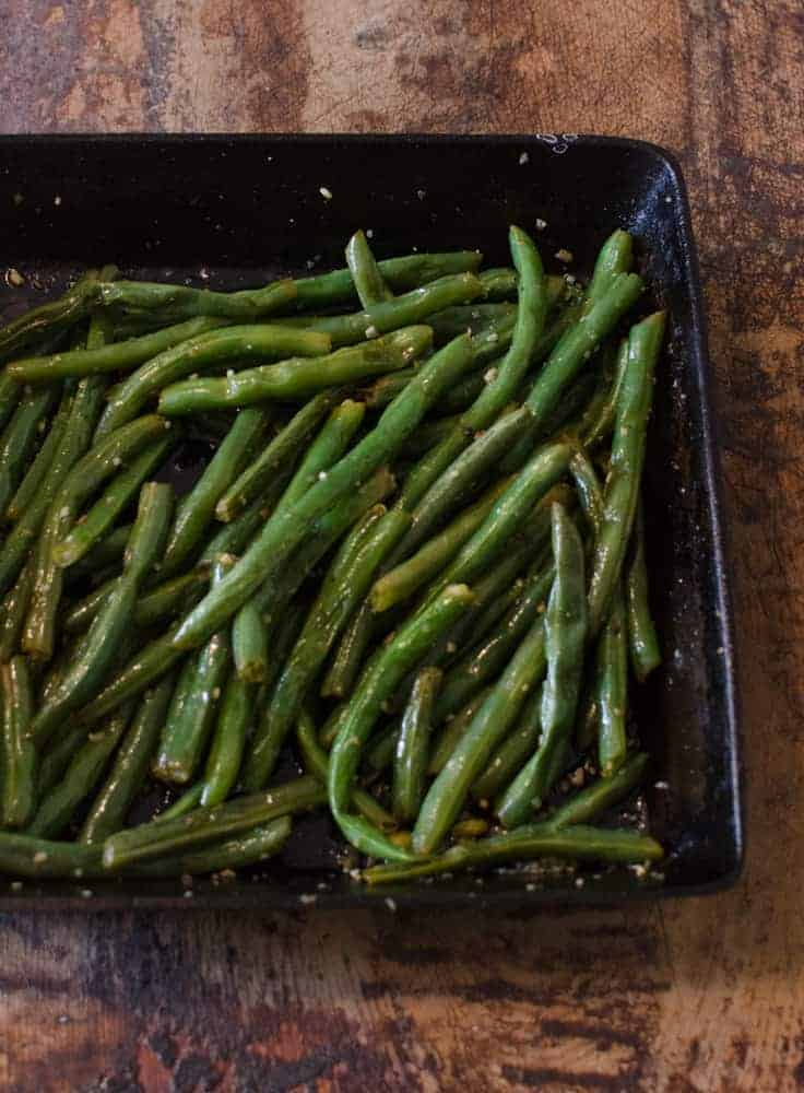 Five Ingredient Sides - Buttery Garlic Green Beans