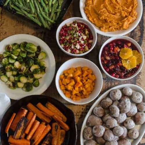 Five Ingredient Sides for Thanksgiving