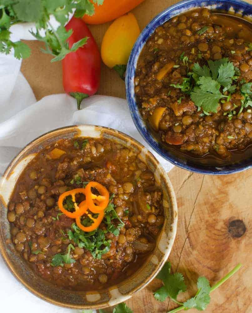 Healthy Lentil Chili