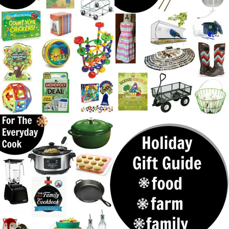 2016 Holiday Gift Guide: Food, Farm, Family