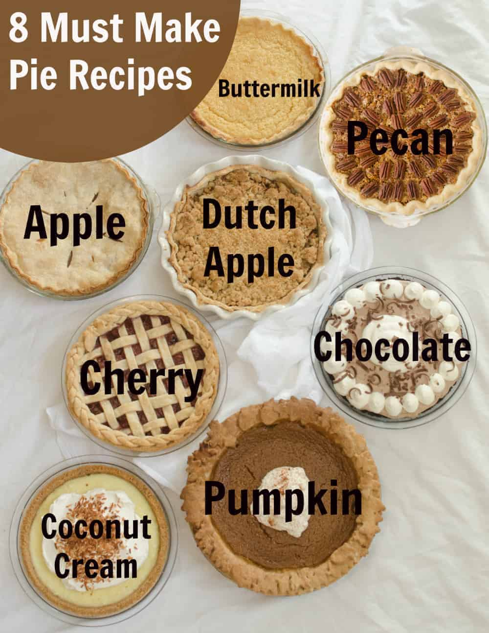 8 Must-Make Pie Recipes for Your Holidays