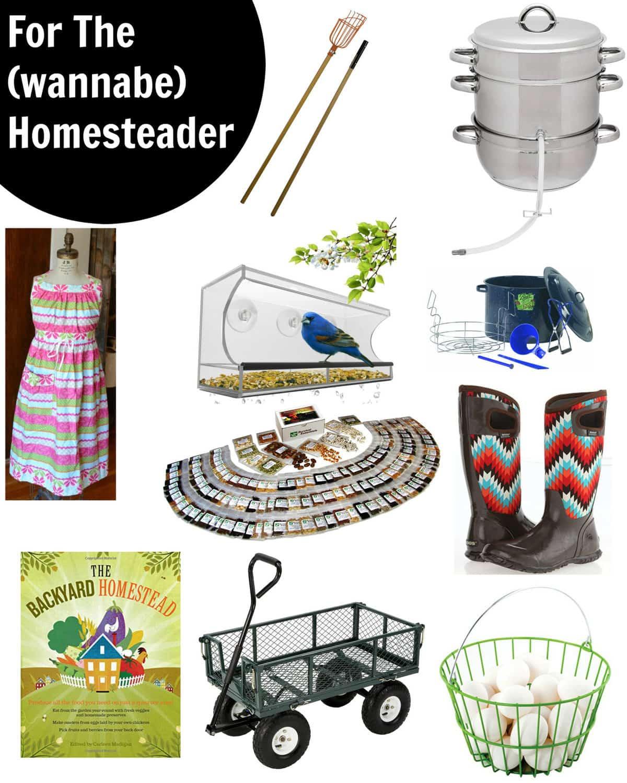 Gift Guide 2016 - Homesteader