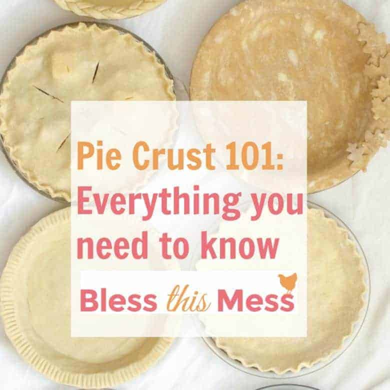 4 Recipes for a Perfect Pie Crust