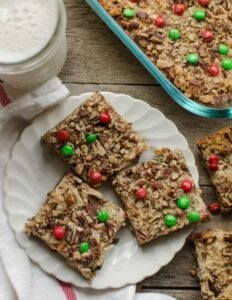 Christmas Magic Cookie Bars Recipe | Addictive + Easy Christmas Treats