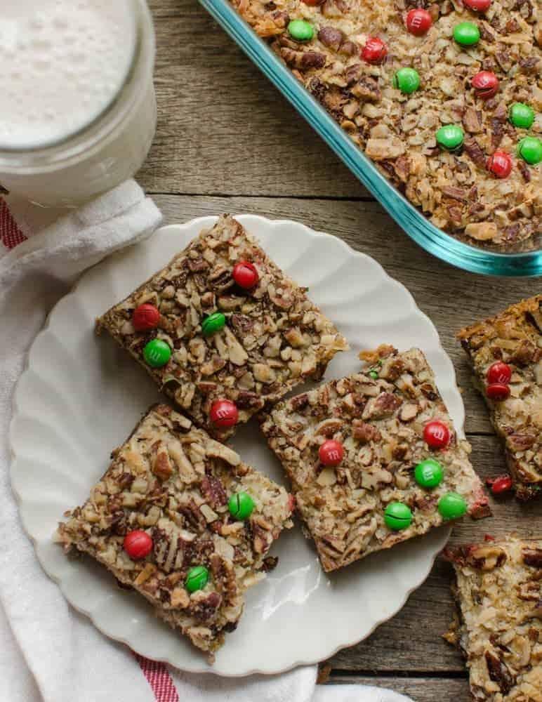 Christmas Magic Cookie Bars Recipe   Addictive + Easy Christmas Treats