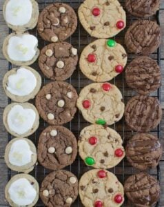 1 Dough, 4 Christmas Cookie Recipes | Easy Holiday Cookie Ideas!
