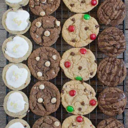 1 Dough, 4 Christmas Cookie Recipes