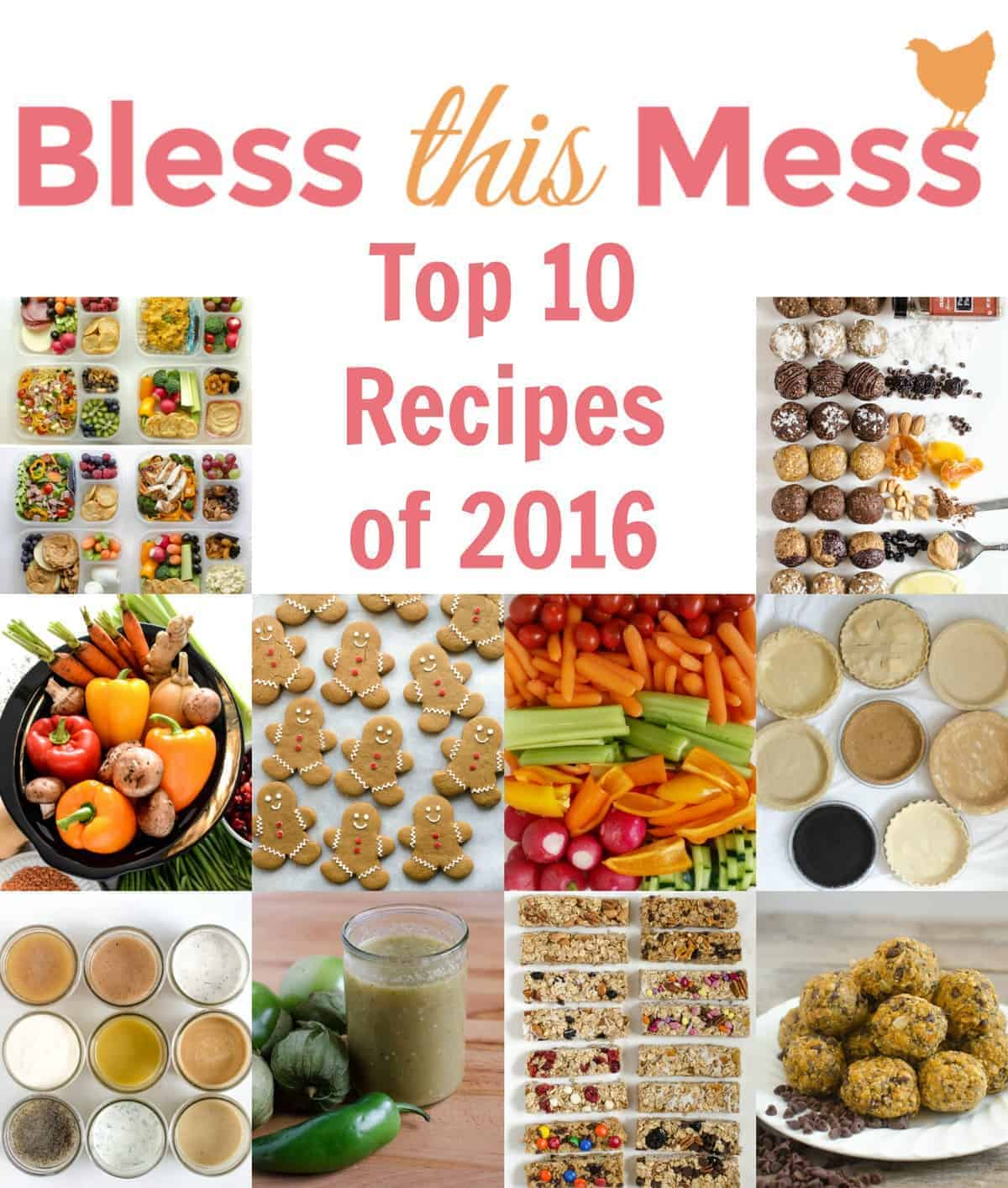 The top 10 posts from Bless This Mess in 2016, and where we're headed in the future. Spoiler alert: next year is going to be all about food!