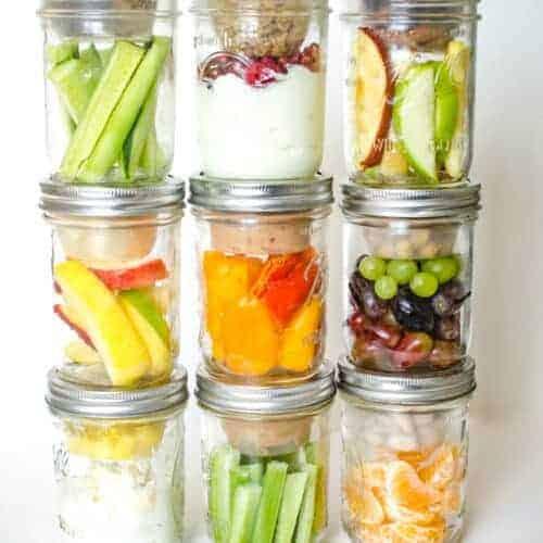10 Healthy Make-Ahead Snacks