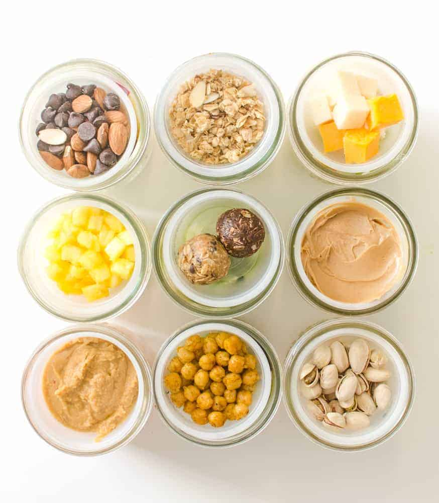 Healthy make ahead snack ideas for the whole family!