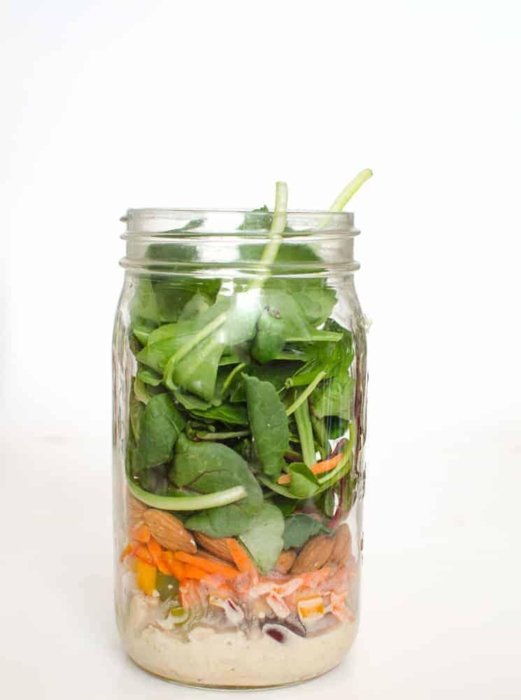 Hearty Tuna Salad in a Jar