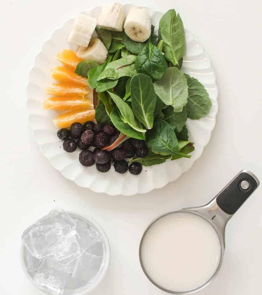Extra Green Simple Smoothie - Ingredients