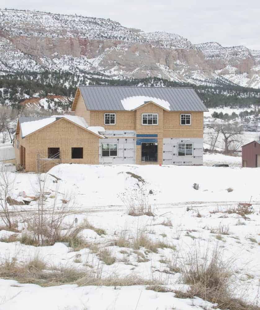 House Building Update: Energy Efficient Windows + Mud