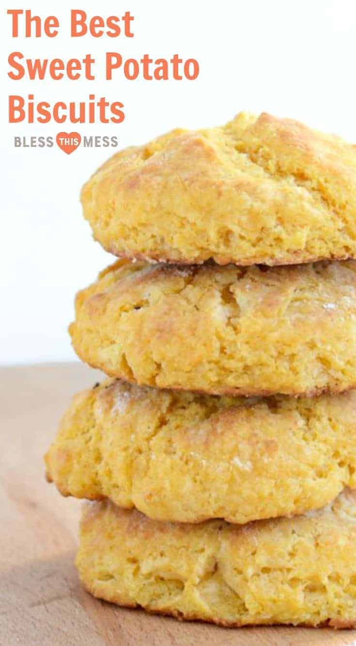 These sweet potato biscuits are quick and easy to make, and are sure to be a hit with the whole family.