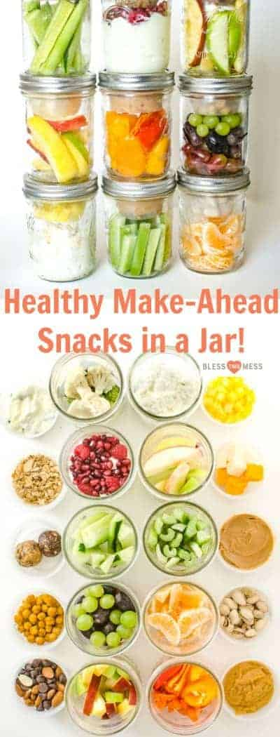Healthy Snacks in a Jar