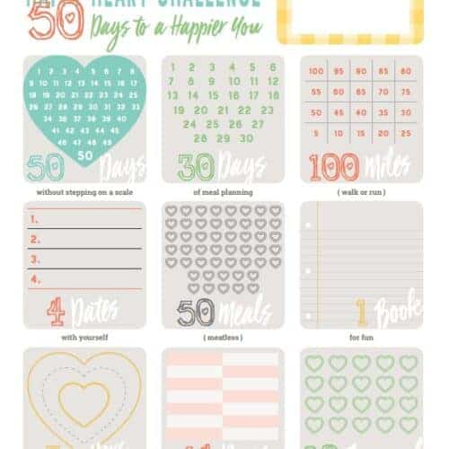 Happy Heart Challenge: 50 Days to a Happier You