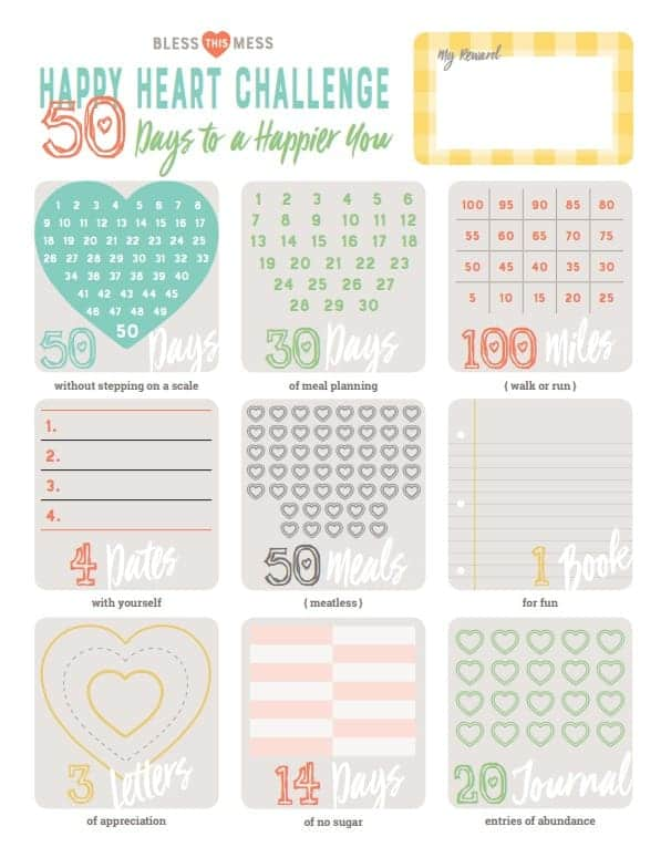 Happy Heart Challenge PDF