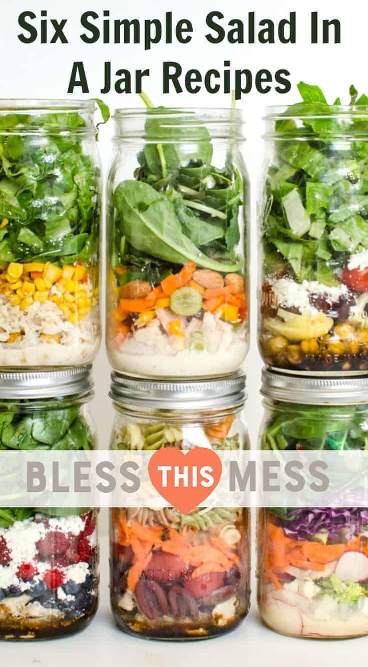 Salad In A Jar Recipes Simple Easy To Prepare And Delicious