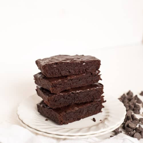 Small Batch Double Chocolate Brownies