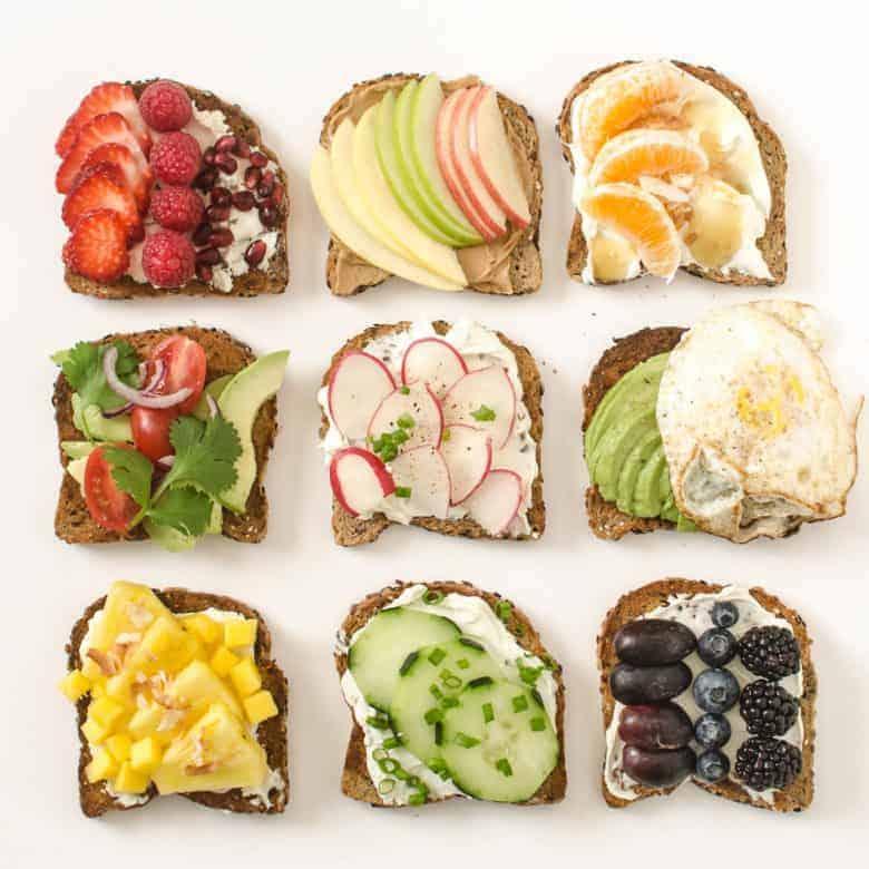 9 Simple Healthy Toast Ideas