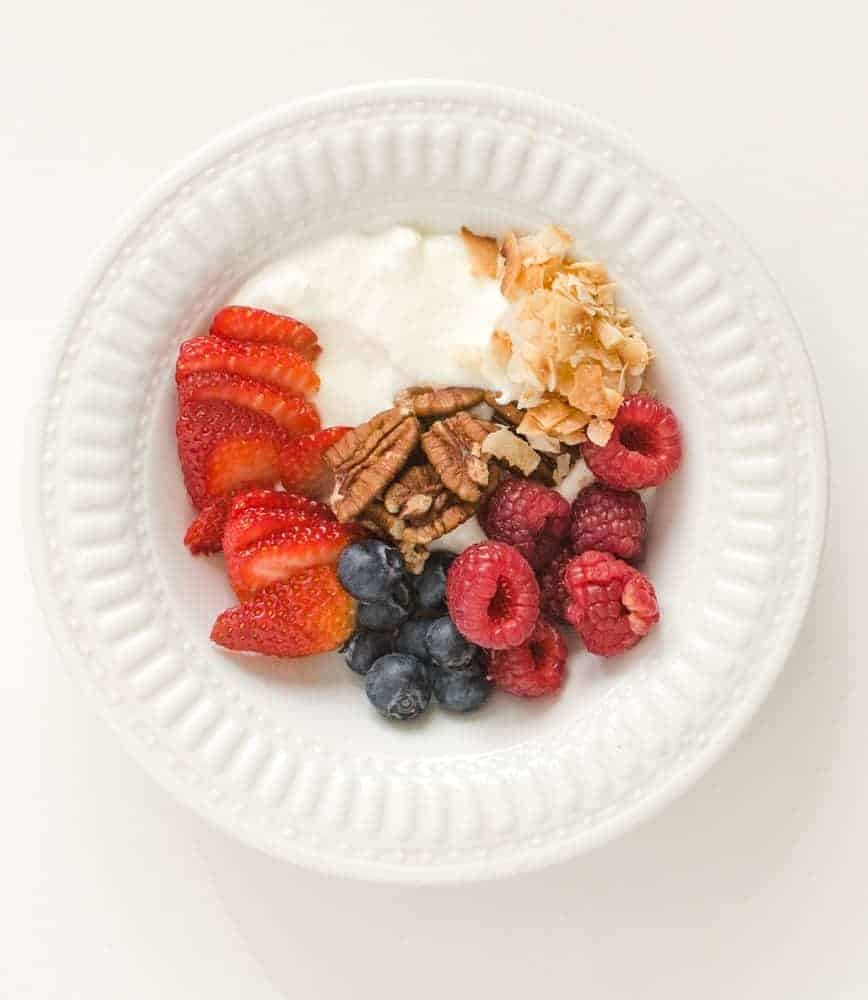These 5 quick, simple, and healthy yogurt bowl ideas are packed with nutrition and will help you get excited about eating a healthy breakfast (or snack!).