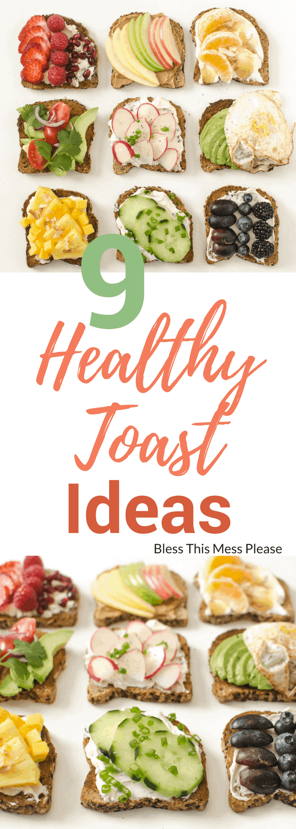 Healthy Toast Ideas