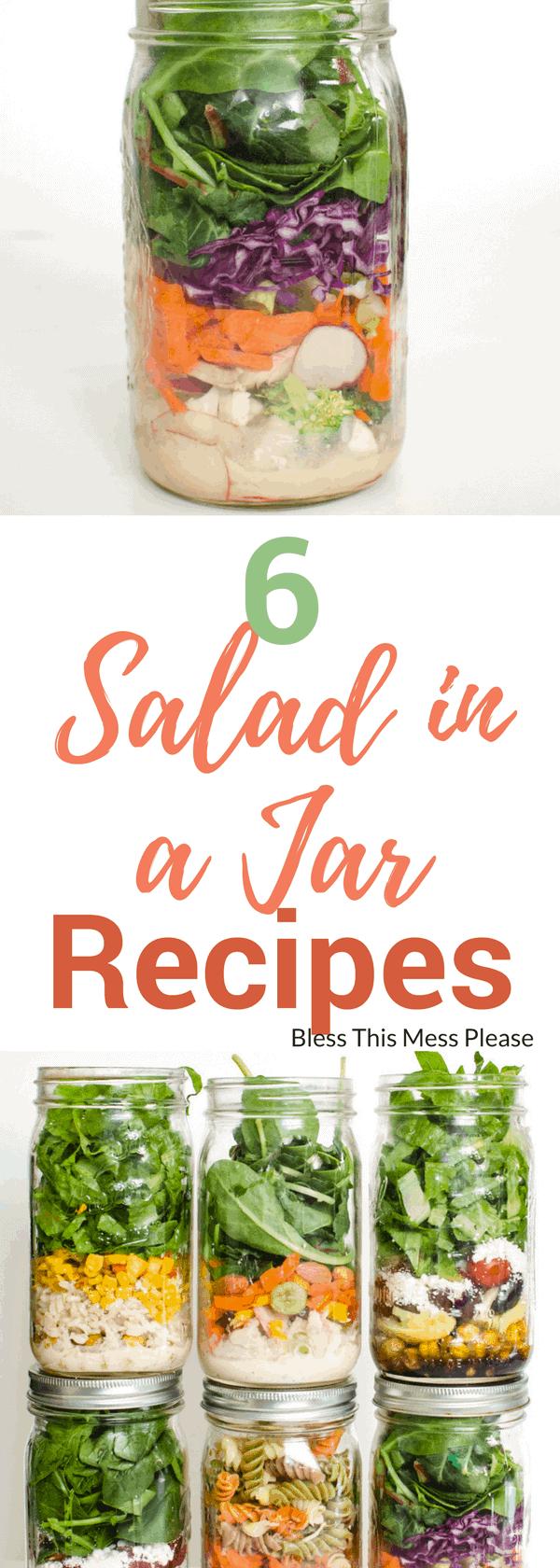 6 Salad in a Jar Recipes