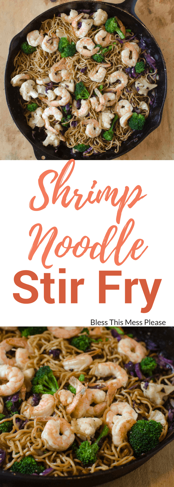 Shrimp Noodle Stir Fry