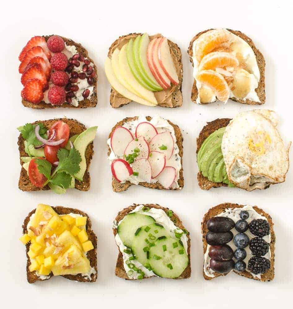 9 Simple Healthy Toast Ideas