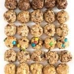 8 No-Bake Oatmeal Energy Balls
