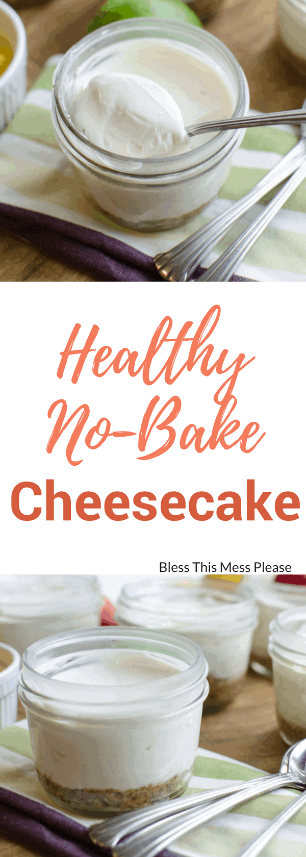 Healthy No-Bake Cheesecake