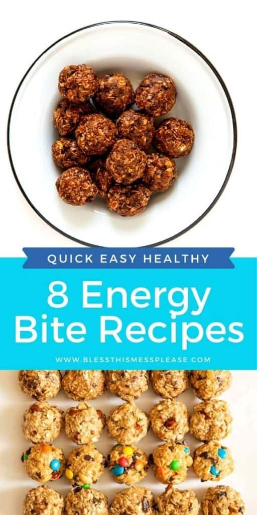 pin for oatmeal energy bites