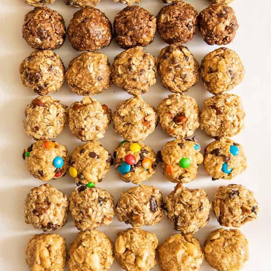 8 No-Bake Oatmeal Energy Balls