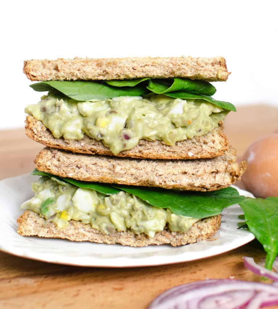Quick And Delicious Avocado Egg Salad Recipe Is A Game Changer