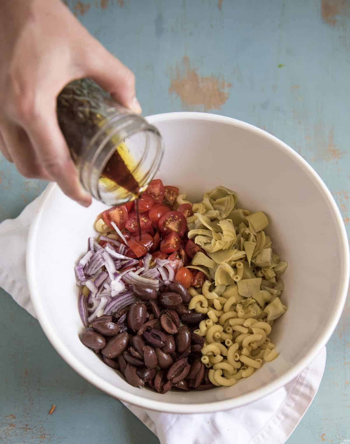 Simple Italian Pasta Salad Recipe