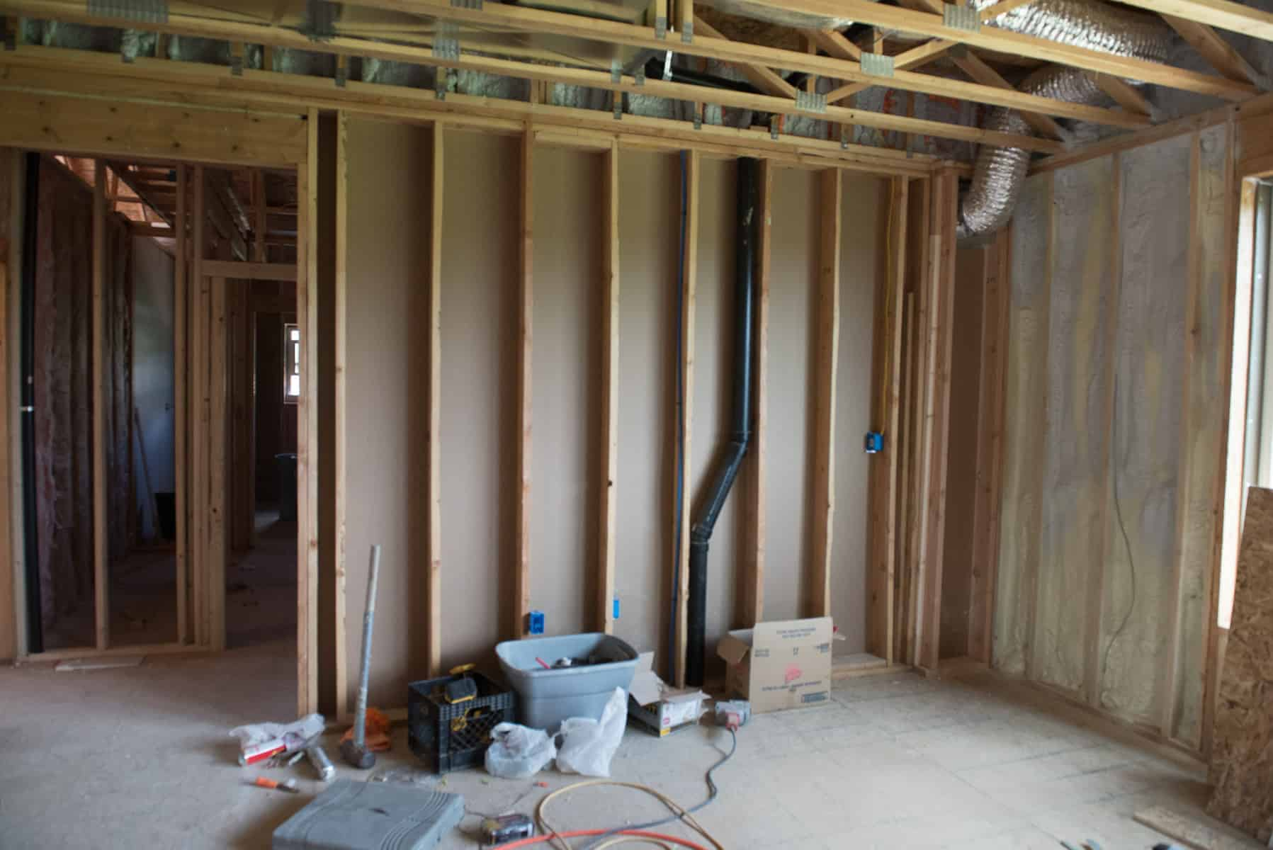 So This Week Will Be More Drywall On The Main Level Adding Channels Installing Recessed And Pendant Lighting Drywalling Ceiling Then Ing