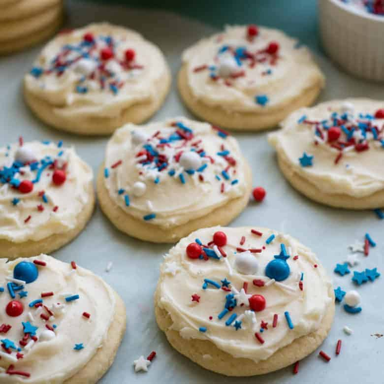 The Best 4th of July Cookies on the Block