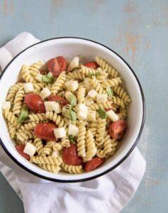 Image of Quick & Easy Pesto Pasta Salad