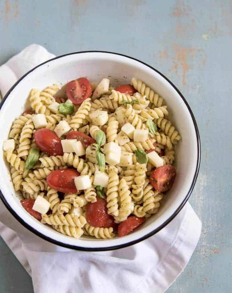 Image of Quick & Easy Pesto Pasta Salad