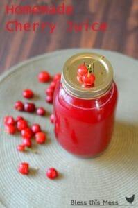 Image of cherry juice