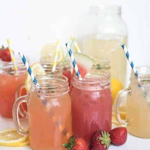 8 Different Homemade Lemonade Recipes