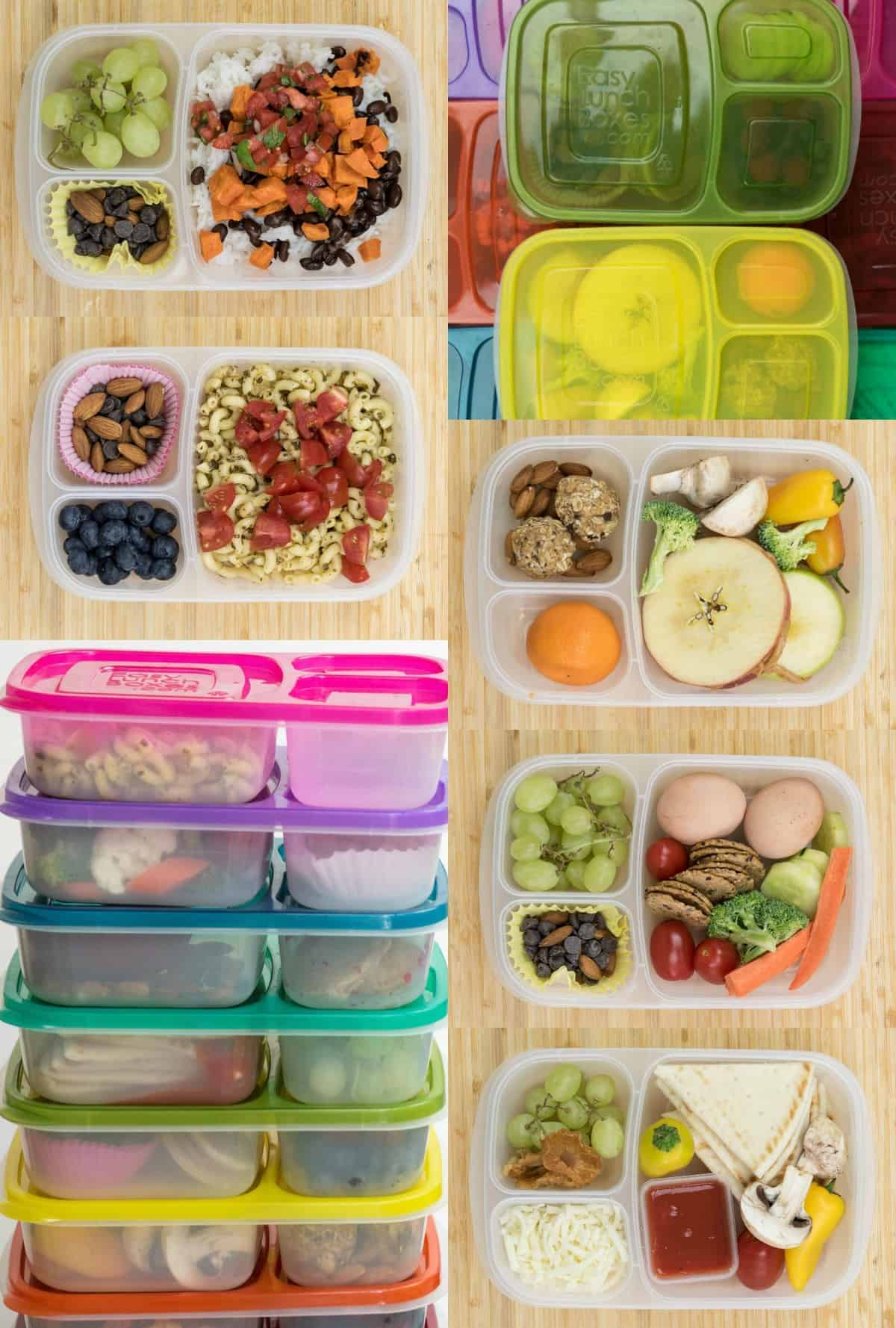 There You Have A Dozen New Lunch Box Ideas To Get Your School Year Started Off With Bang Those Boxes Were All Meatless And Not One Included
