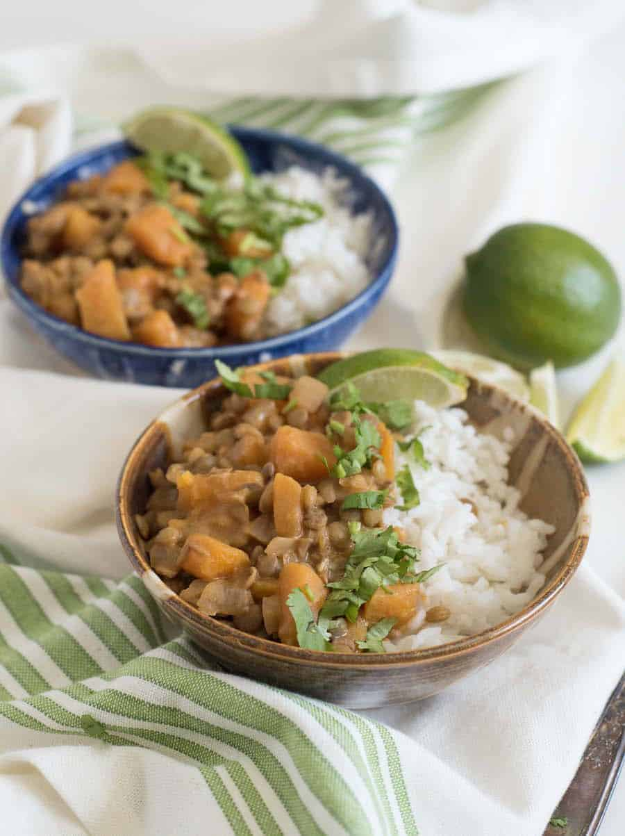 Lentil and Butternut Squash Curry | Butternut Squash Recipe
