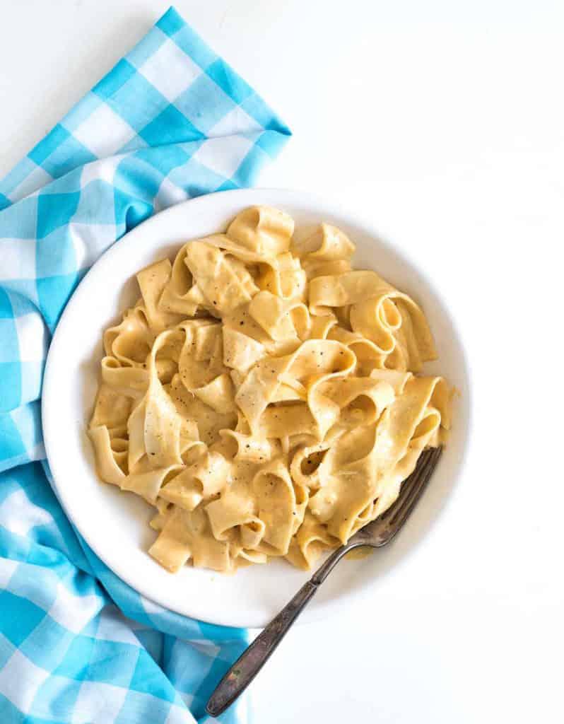 Rich & Creamy Pumpkin Alfredo Sauce | Easy Pumpkin Pasta Recipe