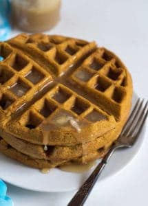Whole Wheat Pumpkin Waffles Recipe | Favorite Easy Pumpkin Recipes