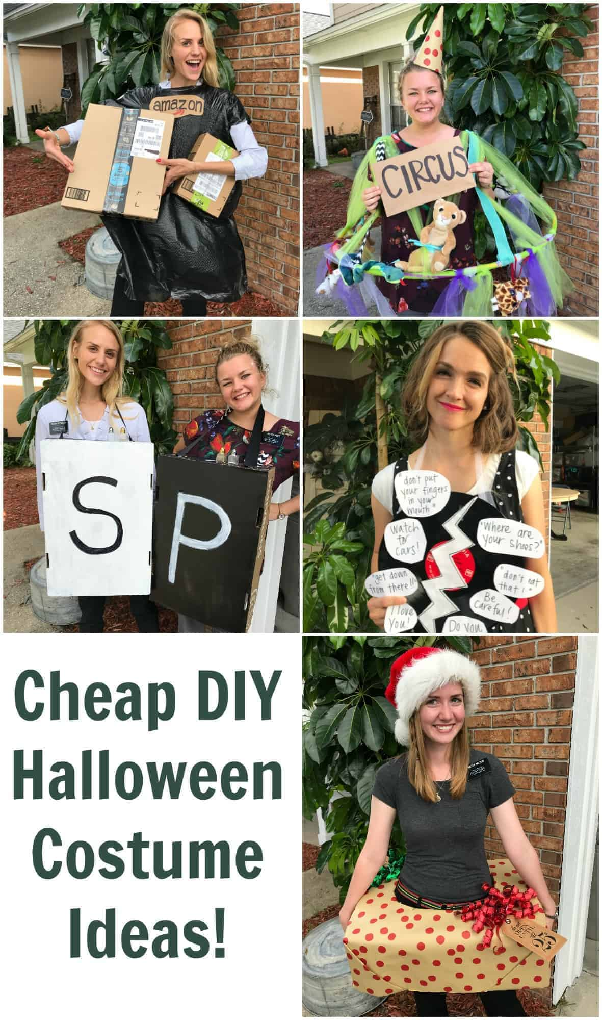 Cheap DIY Halloween costume ideas that are super quick easy and very inexpensive to  sc 1 st  Bless this Mess & Cheap DIY Halloween Costume Ideas u2014 Bless this Mess