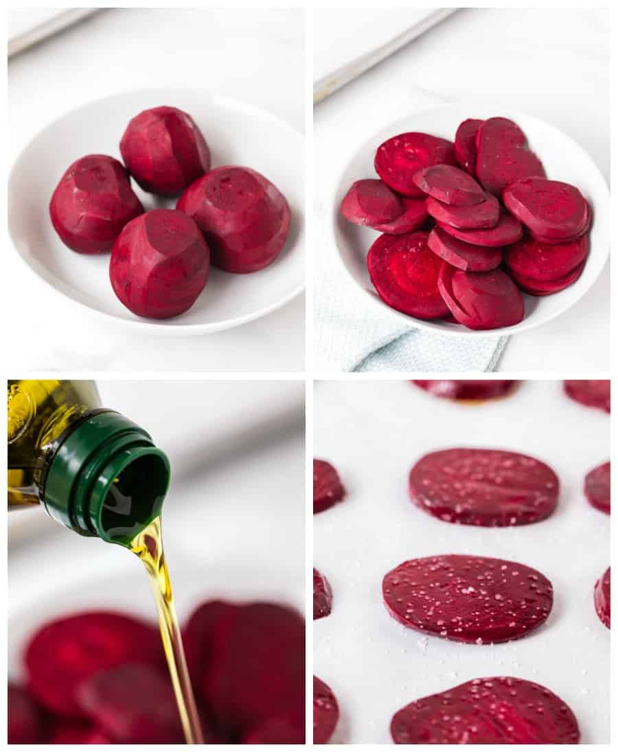 How to Make Roasted beets collage image