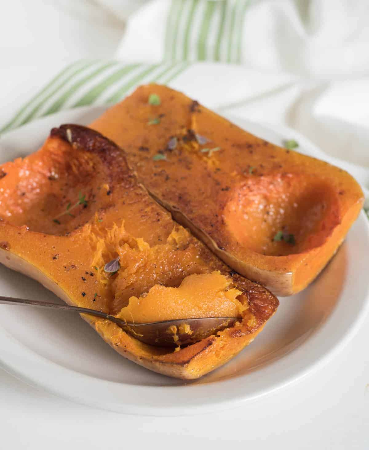 How to Roast Butternut Squash \u2014 Bless this Mess