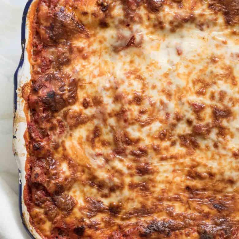 The Best Make-Ahead Lasagna (freezer friendly too!)