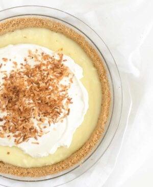 Picture of Homemade Coconut Cream Pie